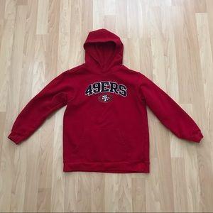 San Francisco 49ers Kids Hoodie L (10/12)